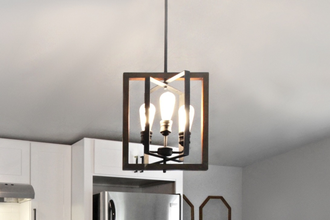 Light Fixture: Home Depot