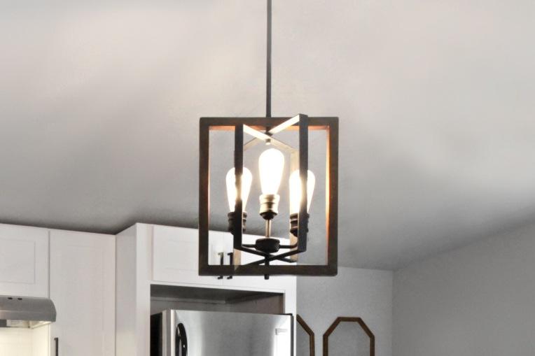 Light Fixture: Home Depot