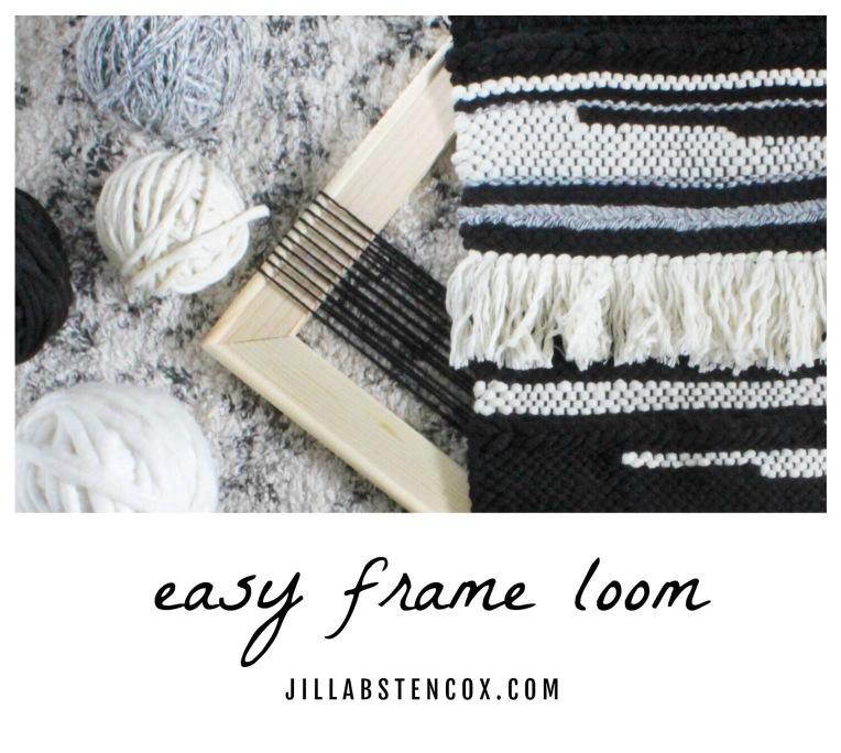 Easy Frame Loom DIY