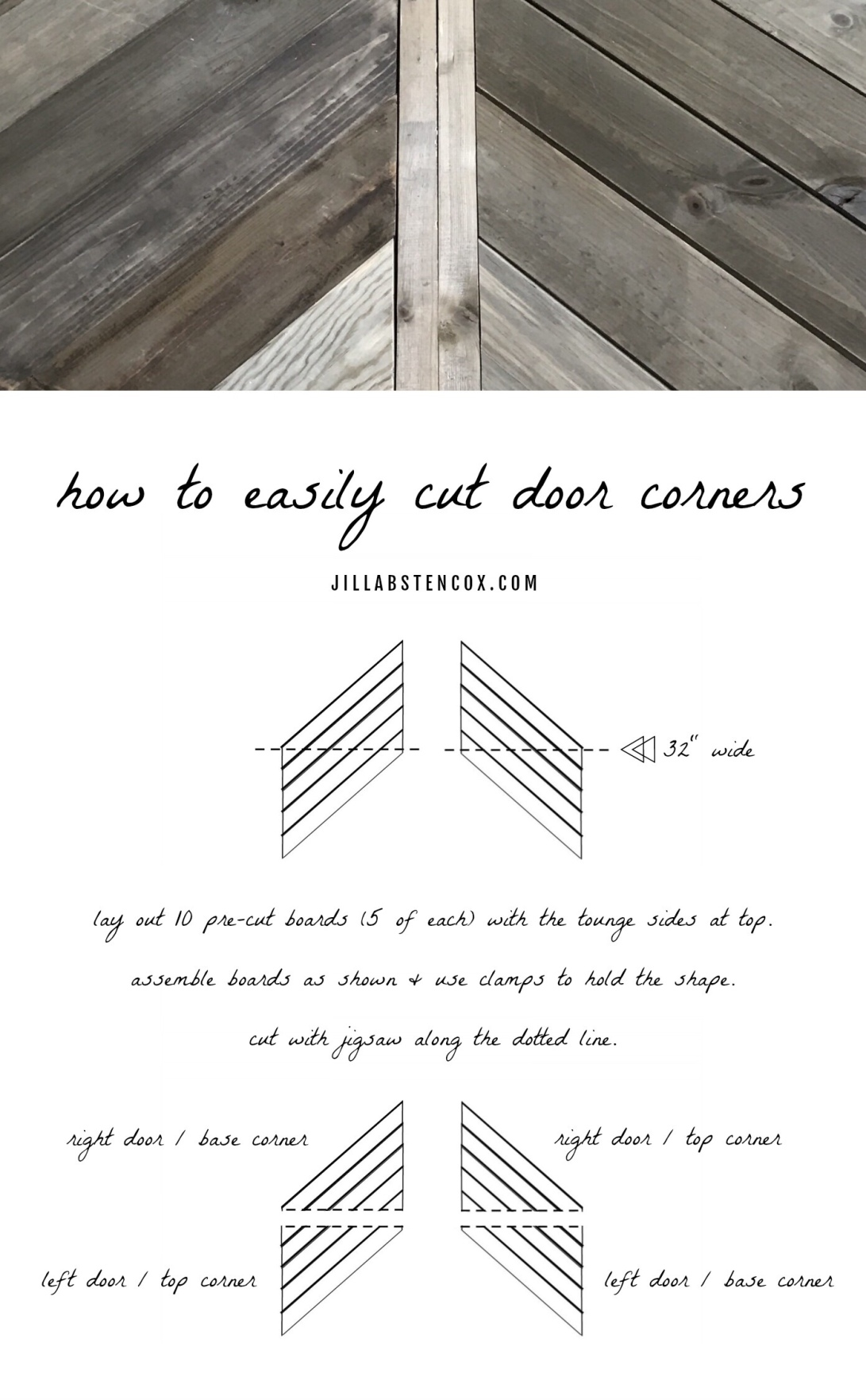 How to Easily Cut Door Corners